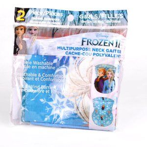 Disney FROZEN Kids Neck Gaiter 2pk